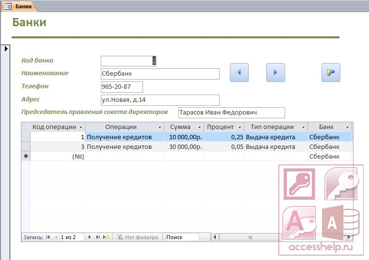 Метод баз данных (банк данных)